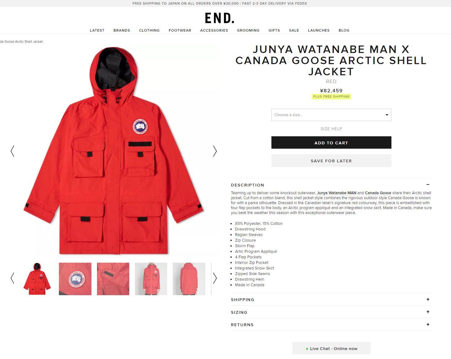 END. カナダグース
